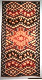 Rio Grande Blanket New Mexico, 1855–1870 Wool Mus. of International Folk Art