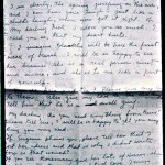 A photo copy of a love letter  Frida Kahlo sent to Nickolas Muray
